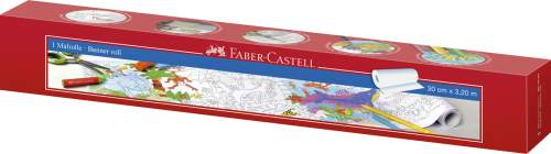 FABER-CASTELL Malrolle, selbstklebend, Länge: 3,20 m