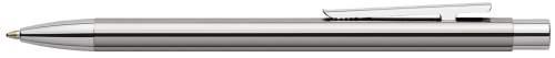 FABER-CASTELL Kugelschreiber NEO Slim Edelstahl, glänzend