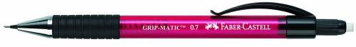 FABER-CASTELL Druckbleistift GRIP-MATIC 1377, rot