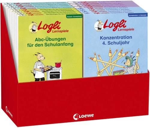 #24xBuch Display Logli Blocks 24 Exemplare ab 6 Jahre