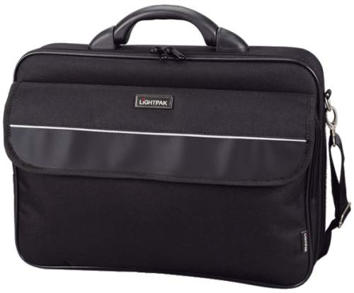 LiGHTPAK Notebook-Tasche ELITE, Größe S, Nylon, schwarz