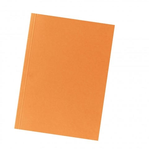 #10xAktendeckel A4 250g orange