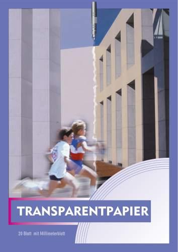Transparentpapierblock A4 20BL