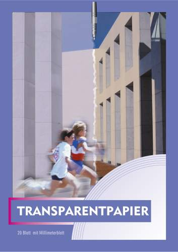 Transparentpapierblock A3 20BL