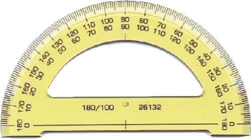 Winkelmesser 180° (Halb)