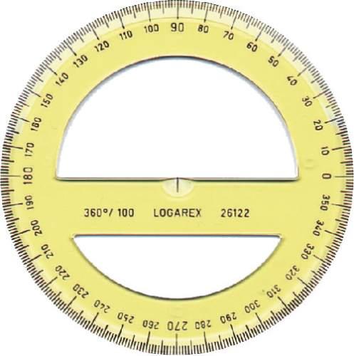 Winkelmesser 360° (Voll)