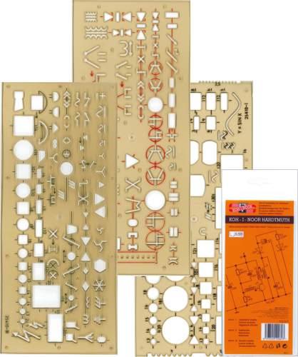 Schablone Elektro  3ST