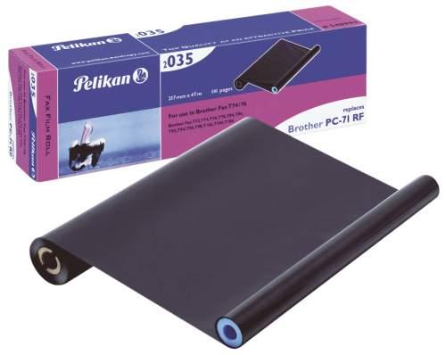Pelikan Thermotransferrolle für bother Fax T72/74, schwarz