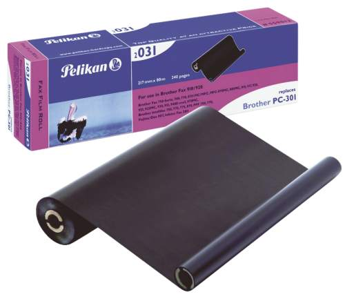 Pelikan Thermotransferrolle für brother Fax 910, schwarz