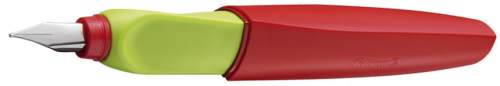 Pelikan Twist Füllhalter, rot/grün