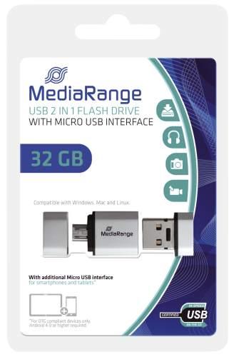 USB Stick 32GB 2.0+MicroUSB