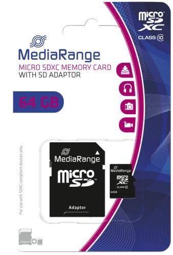 Speicherkarte MicroSDHC 64GB