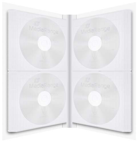 CD-Ringbuch 48CD´s weiß