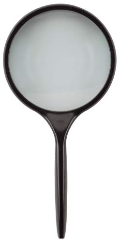 Leseglas Glaslinse 50 mm Ø Vergr.3 x