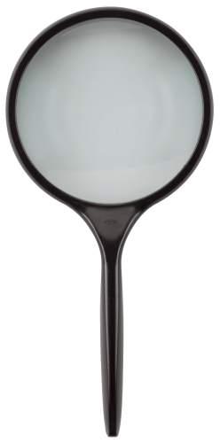 Leseglas Glaslinse 75 mm Ø Vergr.2 x