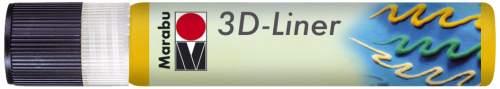 Marabu Relieffarbe 3D-Liner, 3D-mittelgelb, 25 ml