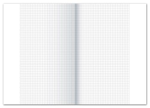 #250xKanzleipapier A3 kariert m.Rd. 70g