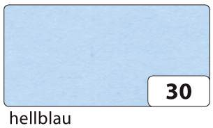 #5xTransparentpapier 115g hellblau