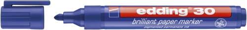 Pigmentmarker brilliant 30 1,5-3mm blau
