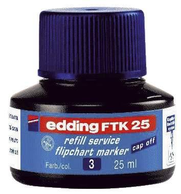Nachfülltusche FTK25 blau