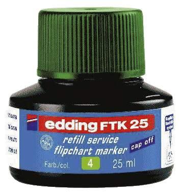 Nachfülltusche FTK25 grün