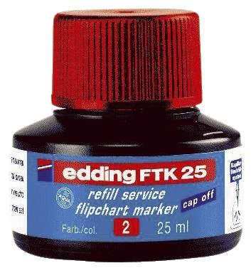 Nachfülltusche FTK25 rot