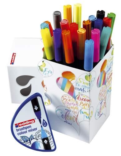 4-CH20+1 Colour Happy Box S20 brushpen