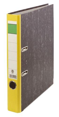 Ordner  A4 50mm neutral gelb