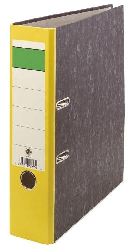 Ordner  A4 80mm neutral gelb