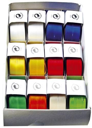 #12xSusifix Zugband 25mmx3m farbig sortiert