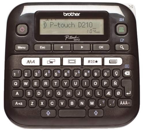 Beschriftungsgerät P-Touch D210VP