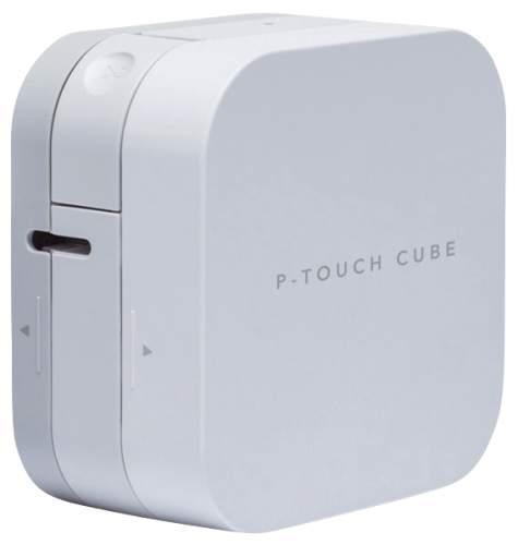 Beschriftungsgerät Cube silber