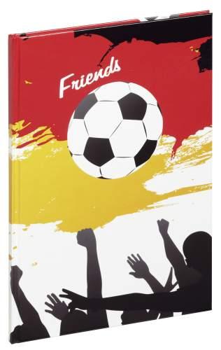 Freundebuch A5 Fußballfans
