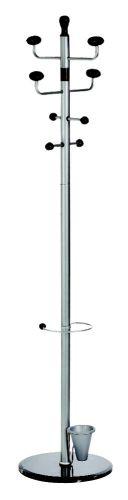 Garderobenständer 180cm silber