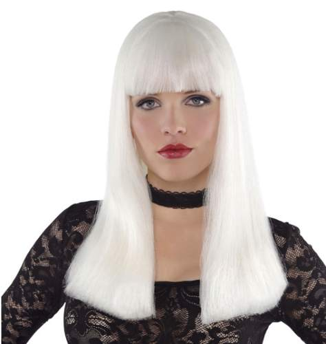 Perücke Electra weiß