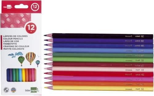 Farbstiftetui LC01 12ST