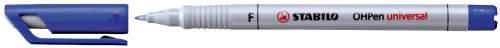 #10xFolienstift Pen F blau