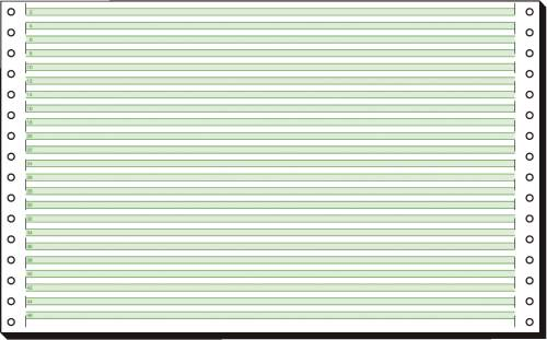 sigel DIN-Computerpapier endlos, 330 mm x 8 (20,32 cm)