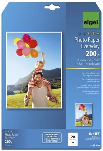 sigel InkJet-Everyday-Foto-Papier, DIN A4, hochglänzend