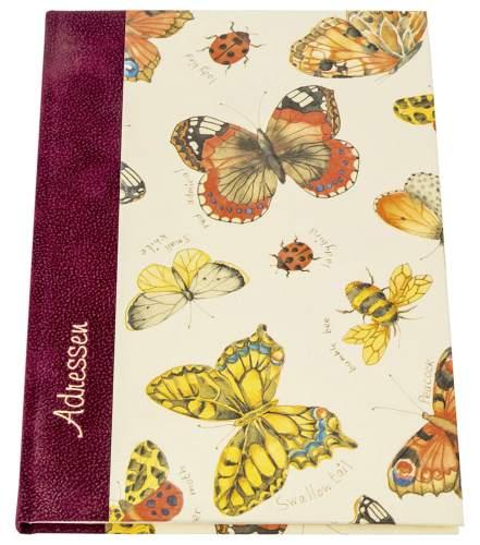 Adressbuch A5 Schmetterlinge