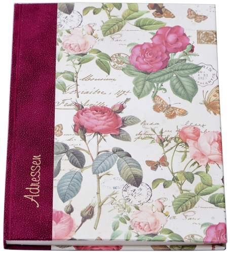 Adressbuch Rosen