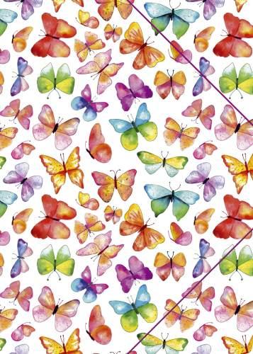 Zeichenmappe A4 Schmetterlinge