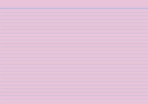 Karteikarte A6 100 ST rosa