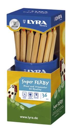 Farbstift Super Ferby 4-Color
