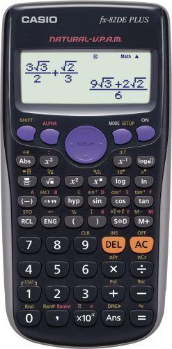 CASIO Schulrechner FX-82DE Plus, Batteriebetrieb
