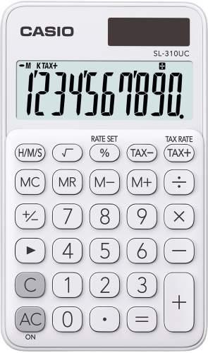 Taschenrechner 10-stellig weiß