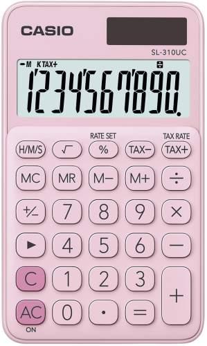 Taschenrechner 10-stellig pink