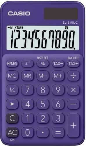 Taschenrechner 10-stellig lila
