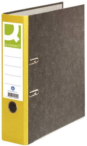 Ordner Pappe A4 80mm gelb