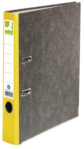 Ordner Pappe A4 50mm gelb
